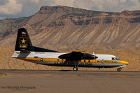 Fokker C-31A Troopship (85-1608) - US Army Golden Knights