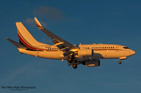 "Boeing 737 Business Jet ""BBJ"" (N129QS)"