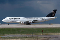 "Boeing 747-400 (TF-AAK) - ""Ed Force One"""