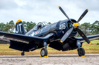 1945 Chance Vought F4U-4 Corsair (N713JT) - Korean War Hero