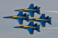 McDonnell Douglas F-18 Hornets - US Navy Blue Angels