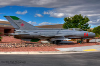 "Mikoyan Gurevich MiG-21 ""Fishbed"" - Nellis AFB, NV"