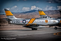 North American F-86 Sabre (NX186AM) - The Horsemen F-86 Flight Team