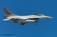 Lockheed F-16AM Falcon (681) - Royal Norwegian Air Force