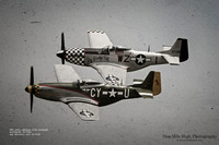 North American P-51D Mustangs - Gunfighter and Big Beautiful Doll (With Text)