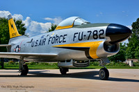 1953 North American F-86L Sabre Dog - Peterson Air & Space Museum