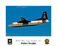 US Army Golden Knights - Fokker C-31A Troopship
