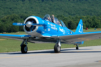 North American T-6 Texan (N73RR) - Two of Hearts