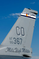 Lockheed Martin F-16C Falcon (86-0367) - 120th Fighter Squadron