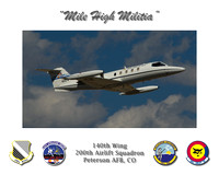 "200th Airlift Squadron Poster (16"" x 20"")"