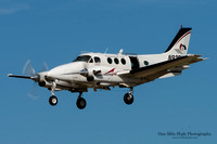 Beechcraft E-90 King Air (N92DV) - Mile Hi Skydivers Inc