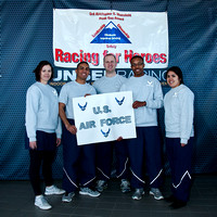 Karting Racing For Heroes - Airmen Against Drunk Driving Team