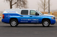 Air Force Recuiter Vehicle