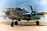 "2012 ""Made in the Shade"" B-25J visit - Centennial Airport, CO"