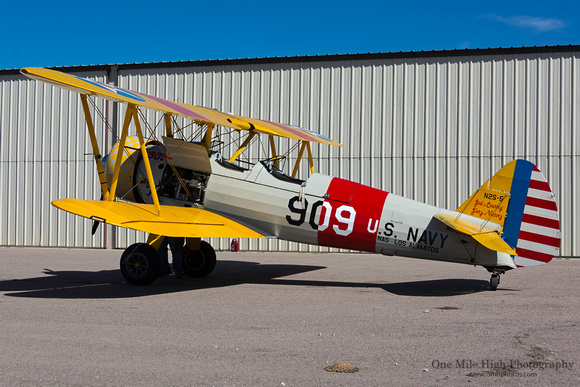 One Mile High Photography | Boeing Model 75 Stearman | 1942