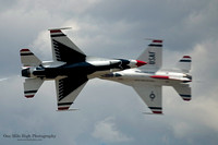 USAF Thunderbird #5 & #6 - Lead and Opposing Solos