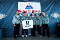 Karting Racing For Heroes - US Army Team