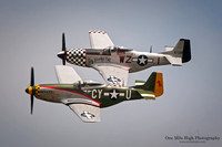 North American P-51D Mustangs - Gunfighter and Big Beautiful Doll