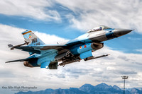 Lockheed F-16C-25-CF Falcon (85-1418) - 64th Aggressor Squadron