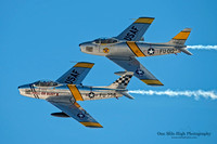 North American F-86 Sabres (NX1F & NX186AM) - Planes of Fame Air Museum