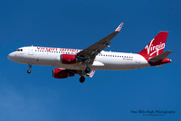 "Airbus A320-214 (N285VA) - ""Flights with Benefits"""